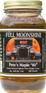Full Moonshine Pete's Maple 80 750ml